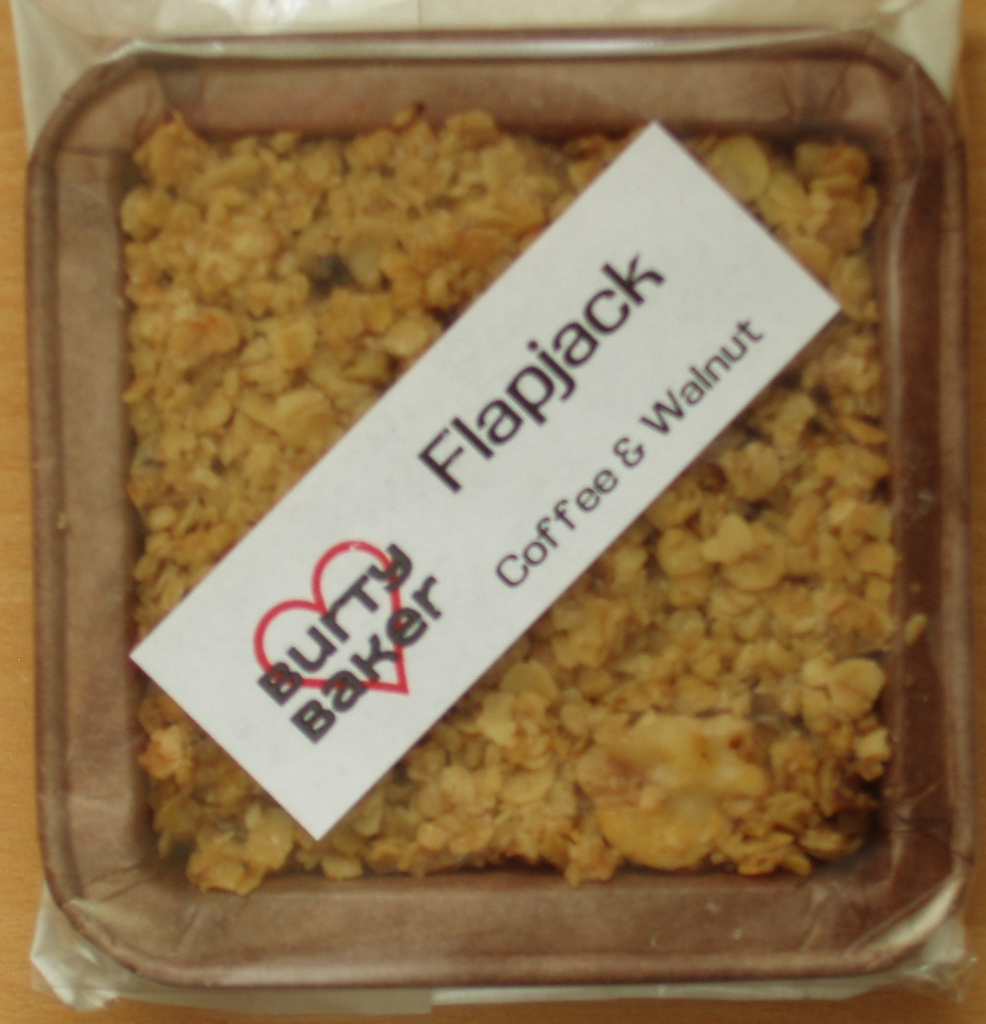 Burty Baker Coffee & Walnut Flapjack