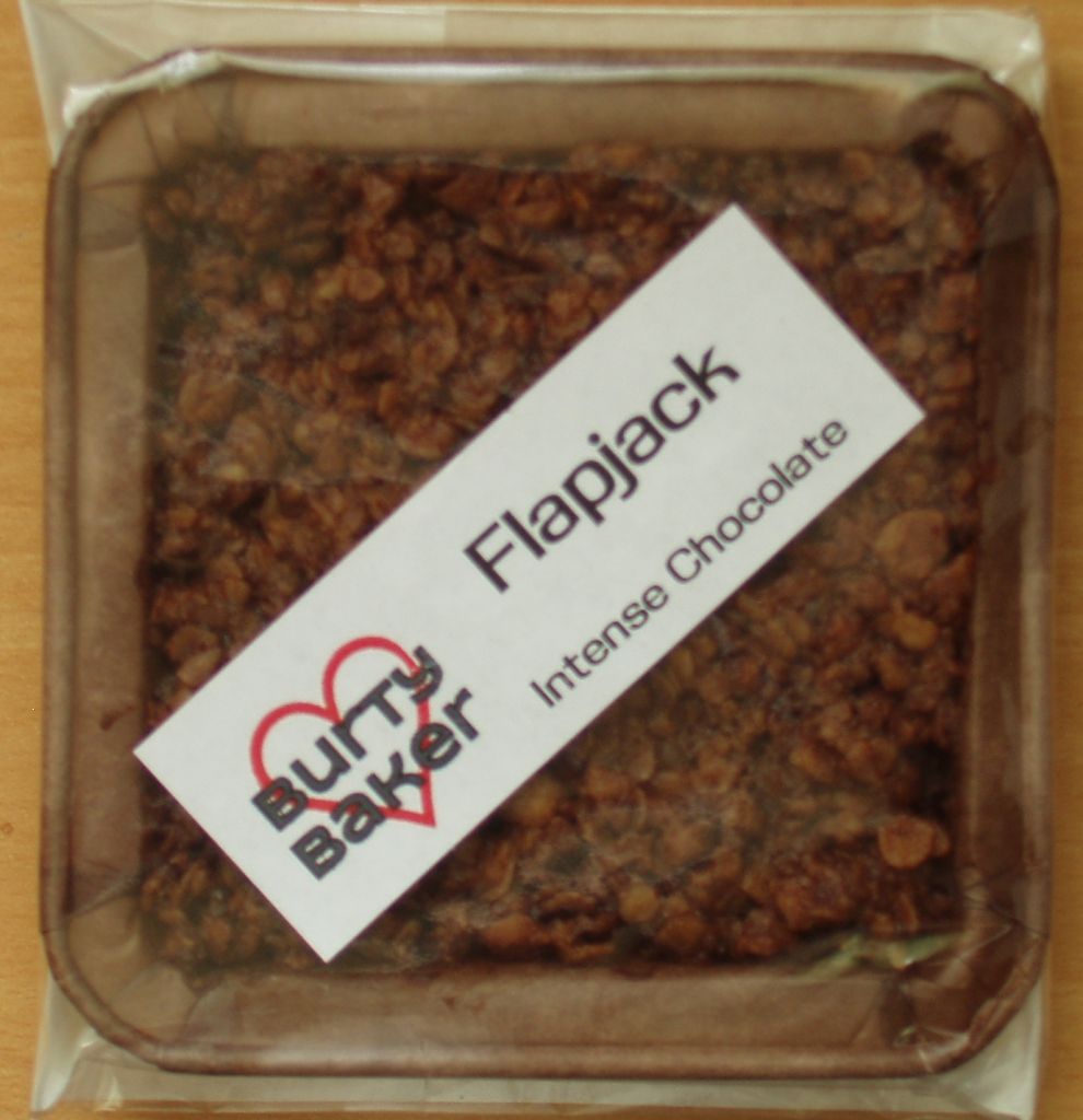 Burty Baker Intense Chocolate Flapjack