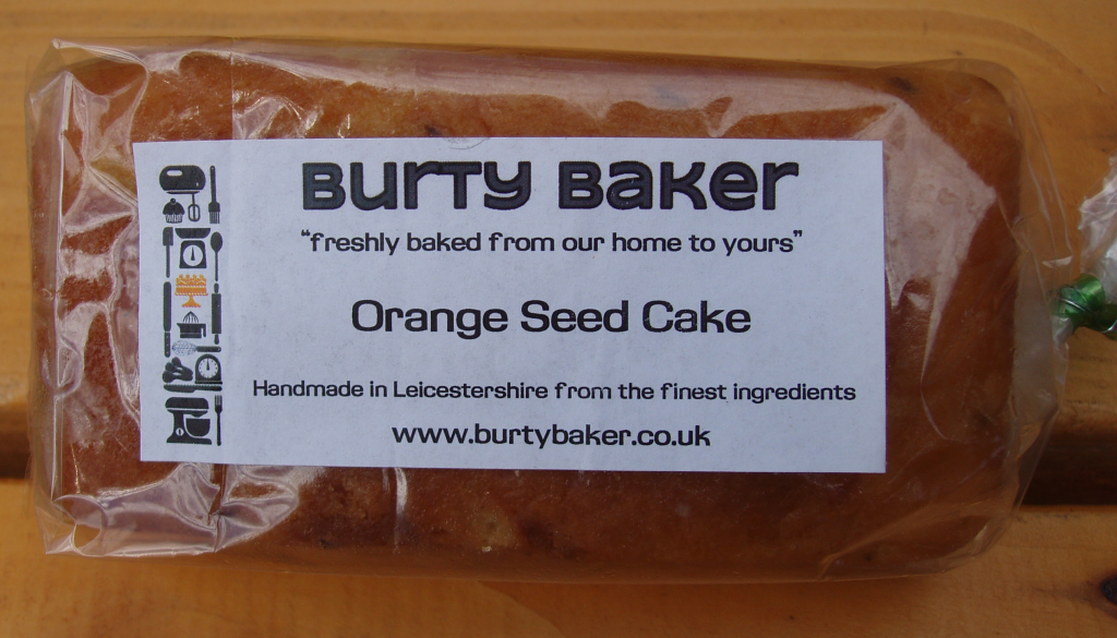 Burty Baker Orange & Caraway Seed Cake