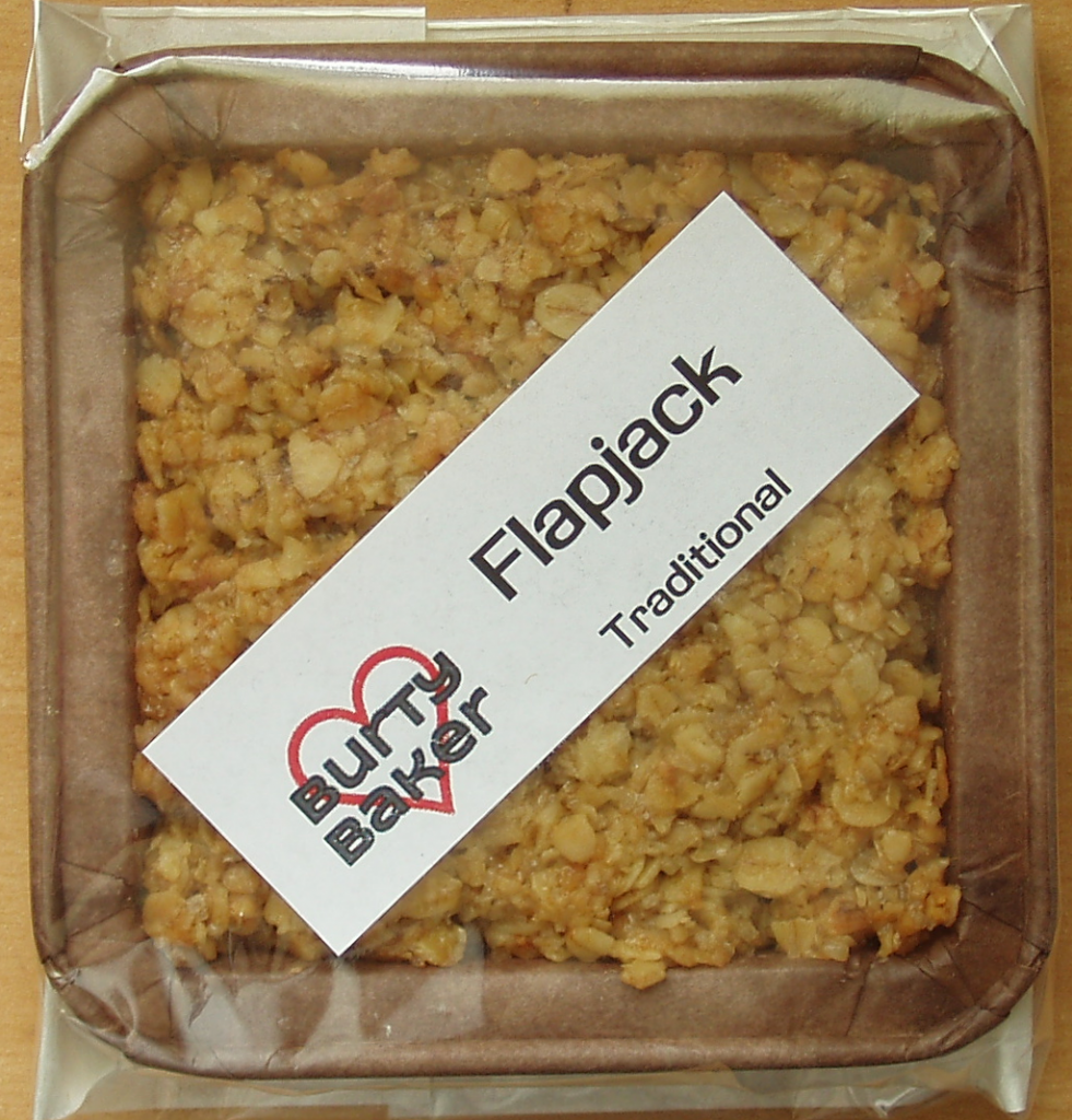 Burty Baker Traditional Flapjack
