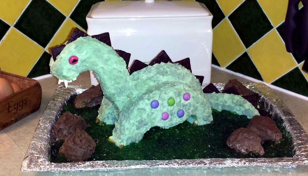 Burty baker Derek the Dinosaur